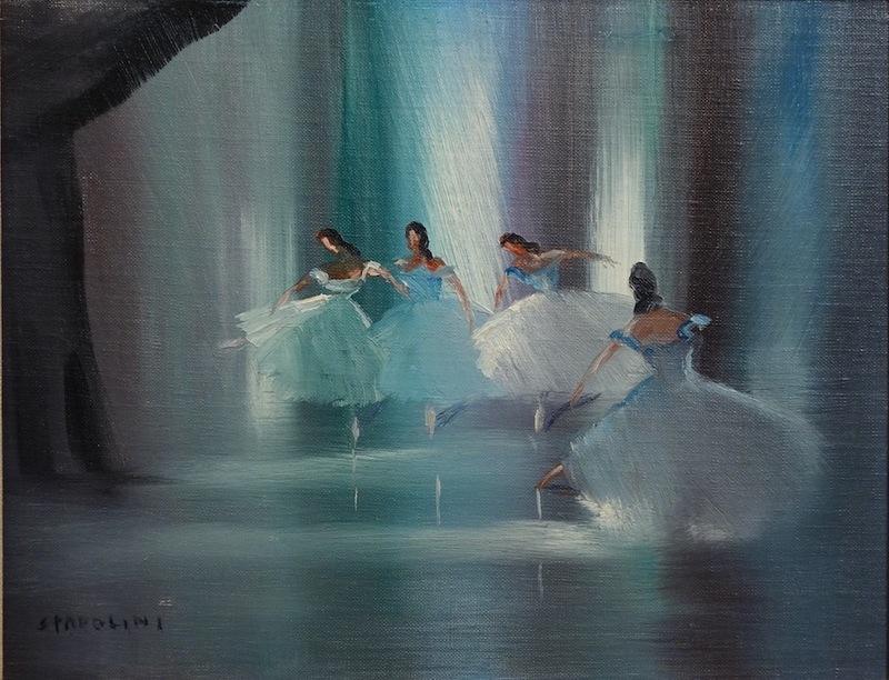 Alberto SPADOLINI - Painting - Finale