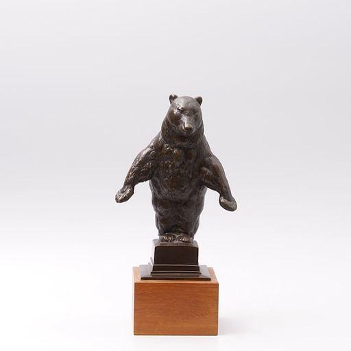 August GAUL - Sculpture-Volume - Stehender Bär