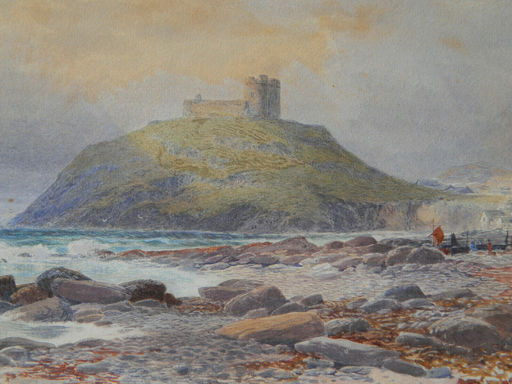 James Jackson CURNOCK - Drawing-Watercolor - PAYS DE GALLES - WALES