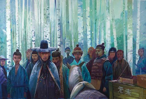 ANDREW HEM - Pintura
