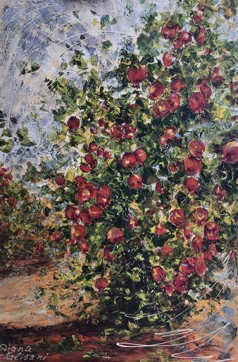 Diana MALIVANI - Pittura - Pomegranate Tree