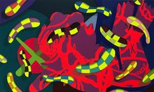 KAWS - Stampa Multiplo - Alone again