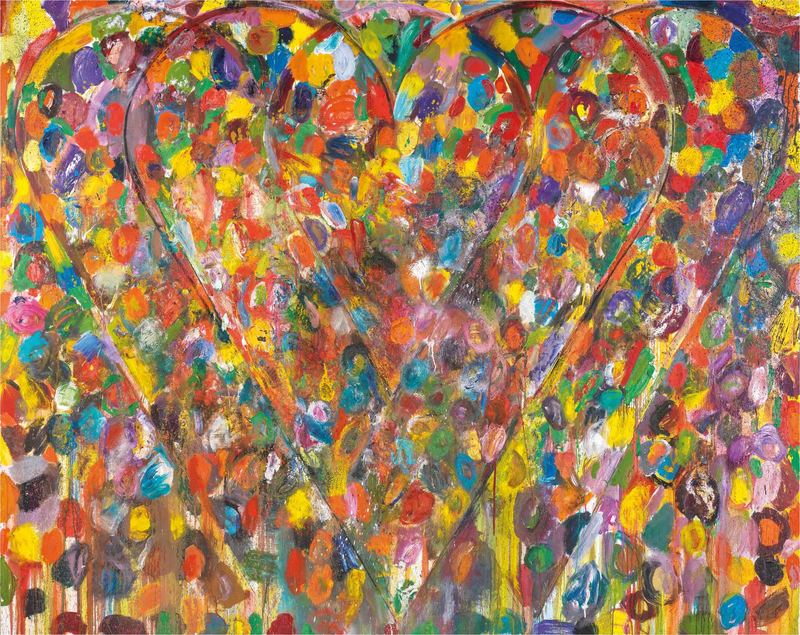 Jim DINE - Painting - Dogwood Spring