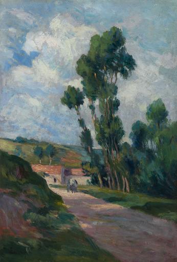 Maximilien LUCE - Painting - Paysage animé