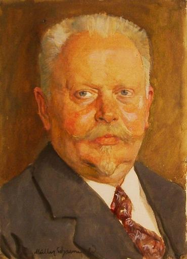Ernst MÜLLER-SCHÖNEFELD - Pintura
