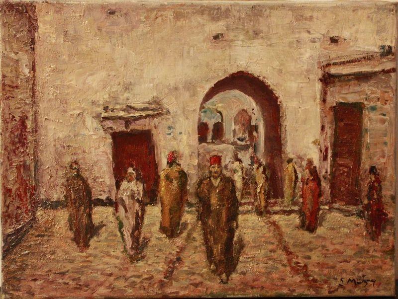Samuel MÜTZNER - Painting - Marrakesh
