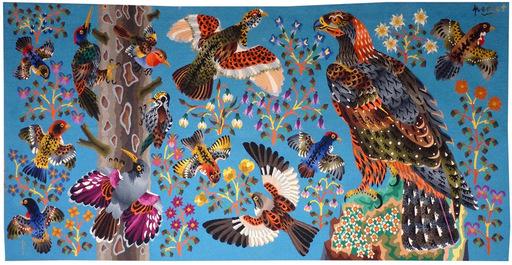 René PERROT - Tapestry - Savoie