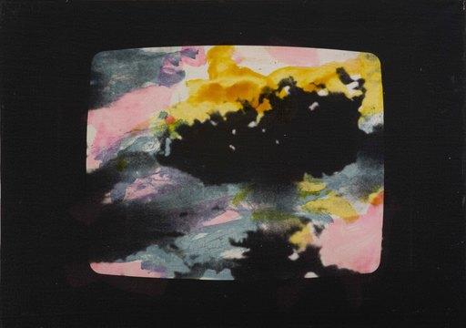 Mario SCHIFANO - Peinture - Paesaggio TV