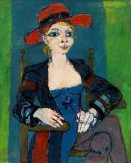 Paul AIZPIRI - Painting - Femme assise