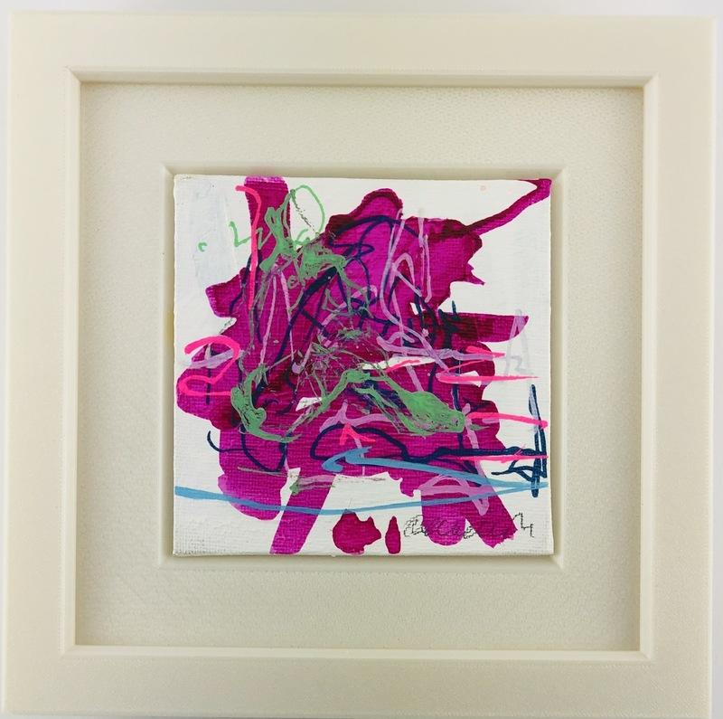 Nicole LEIDENFROST - Gemälde - Pause in pink