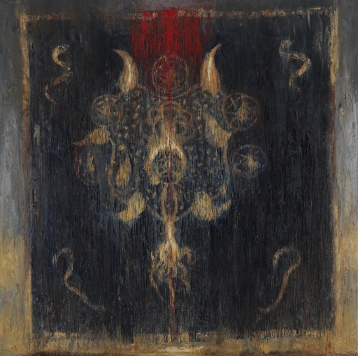 Omar GALLIANI - Pittura - In cobalto vestiva