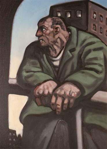 Peter HOWSON - Painting - Dosser