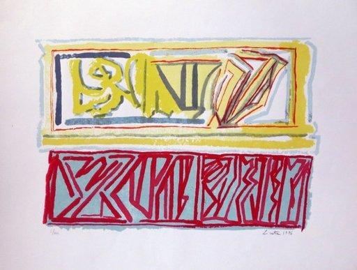 Riccardo LICATA - Druckgrafik-Multiple - Composition