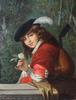 Michele GORDIGIANI (1835-1909) - Piccolo paggio con liuto