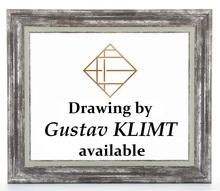Gustav KLIMT - Drawing-Watercolor - Etude
