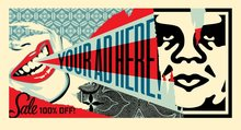 Shepard FAIREY - Print-Multiple - Your Ad Here Billboard