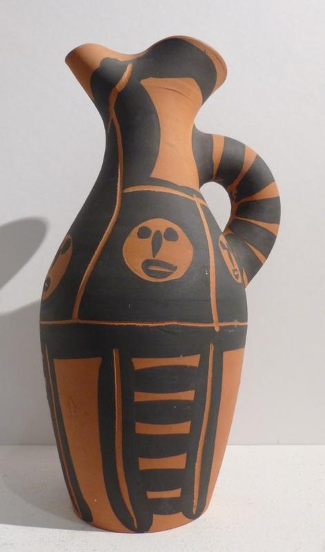 Pablo PICASSO - Ceramic - Yan petites tetes