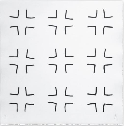 Pierre MUCKENSTURM - Druckgrafik-Multiple - 204C1742 (Abstract print)
