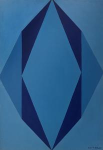 Galliano MAZZON - Gemälde - Composizione, 1967