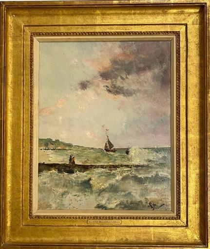 Alfred Emile Léopold STEVENS - Painting