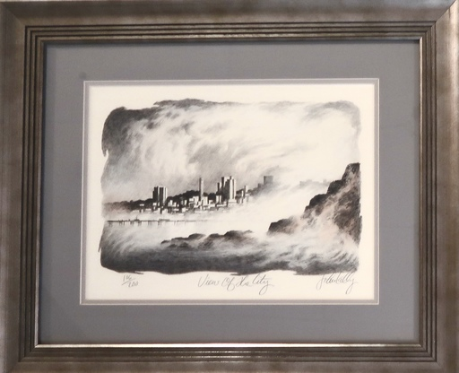 John KELLY - Print-Multiple - View of the City