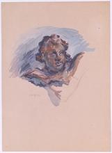 Felix Albrecht HARTA - Dessin-Aquarelle - Felix Albrecht Harta (1884-1967), Drawing, 1930s