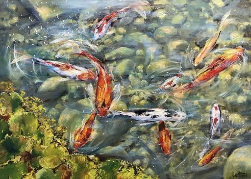 Diana MALIVANI - Pintura - Pond