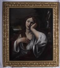 Ludovico CARRACCI - Pintura - Magdalena penitente en el desierto