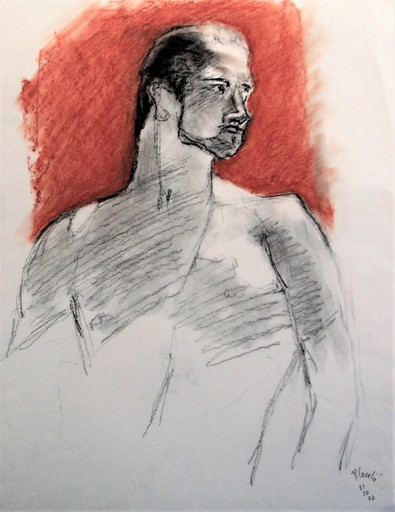 R.CAVALIÉ - Dibujo Acuarela - N.R. 103