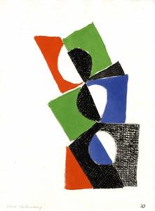 Sonia DELAUNAY-TERK - Print-Multiple - Juste présent planche 2
