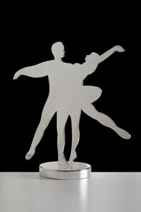 Marco LODOLA - Sculpture-Volume - DOPPIO ARABESQUE