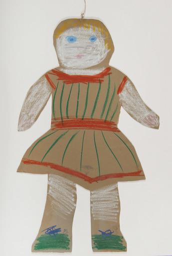 巴勃罗•毕加索 - 水彩作品 - La poupée