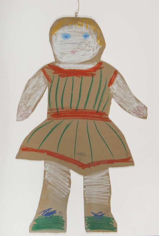 Pablo PICASSO - Drawing-Watercolor - La poupée