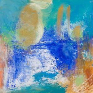 Laura VIZZARDI - Painting - Il Mare
