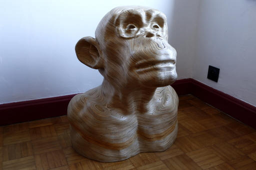 Maxime ACKER - Sculpture-Volume - No news from God