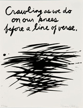 Raymond PETTIBON - Estampe-Multiple - Crawling as we do