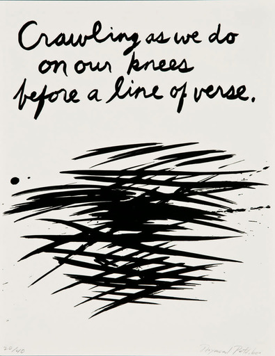 Raymond PETTIBON - Print-Multiple - Crawling as we do