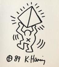 Keith HARING - Disegno Acquarello - Original drawing