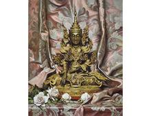 Bruno CROATTO - Painting - Grande Budda