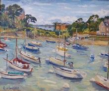 Anne DE LARMINAT - Painting - Saint Briac sur Mer