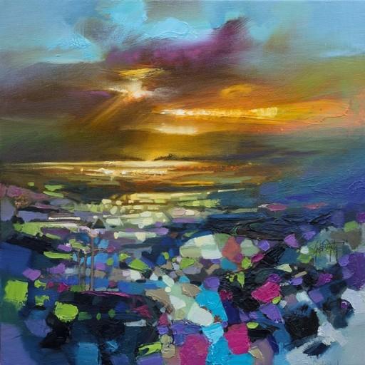 Scott NAISMITH - Painting - Tectonic Light