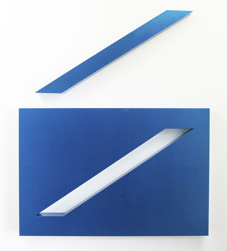 Lori COZEN-GELLER - Sculpture-Volume - Conviction, Blue