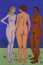 Vincent BIOULES (1938) - Jeanine, Paulette et Raymonde