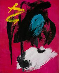 Gérard SCHNEIDER - Painting - Composition Lyrique