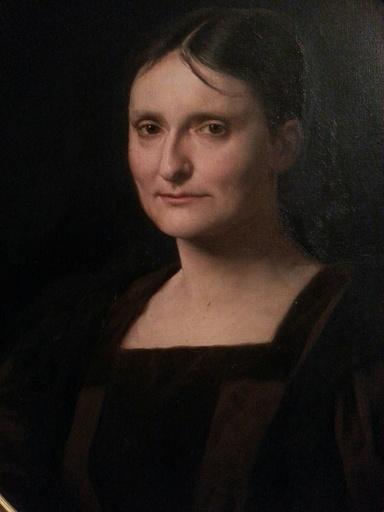 Frédéric Théodore LIX - Pintura - Portrait de Laure