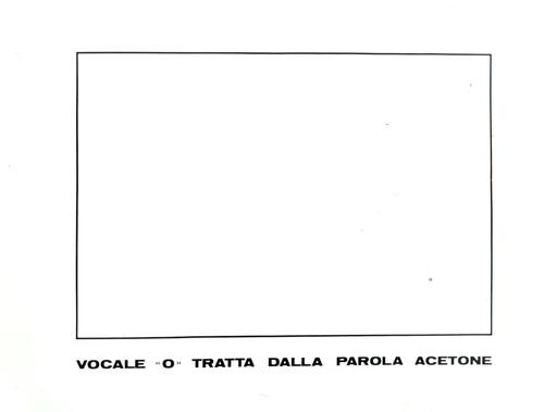 """Emilio ISGRO - Painting - VOCALE """"O"""""""