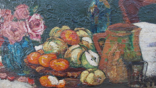Henry Maurice D'ANTY - Pintura - Nature morte