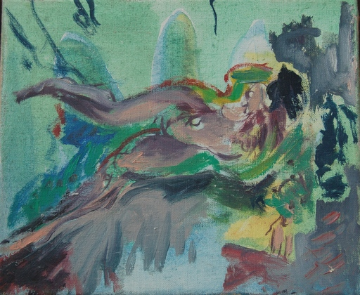 Fides BECKER - Painting - Nude