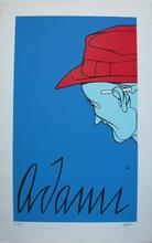 Valerio ADAMI - Print-Multiple - Man with Cigarette