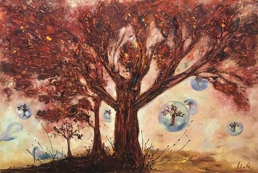 Diana MALIVANI - Pittura - When I Saw This Tree...